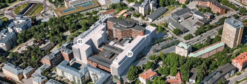 Extension of Saint Göran's Hospital